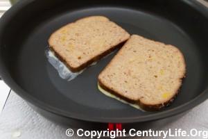 """5-qt (12"""") Anolon Nouvelle Copper Saute Pan - French Toast"""