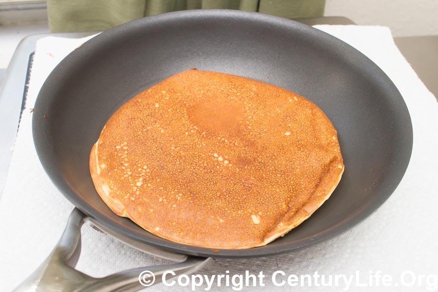 Anolon Nouvelle Copper Nonstick - Making Gluten-Free Pancakes
