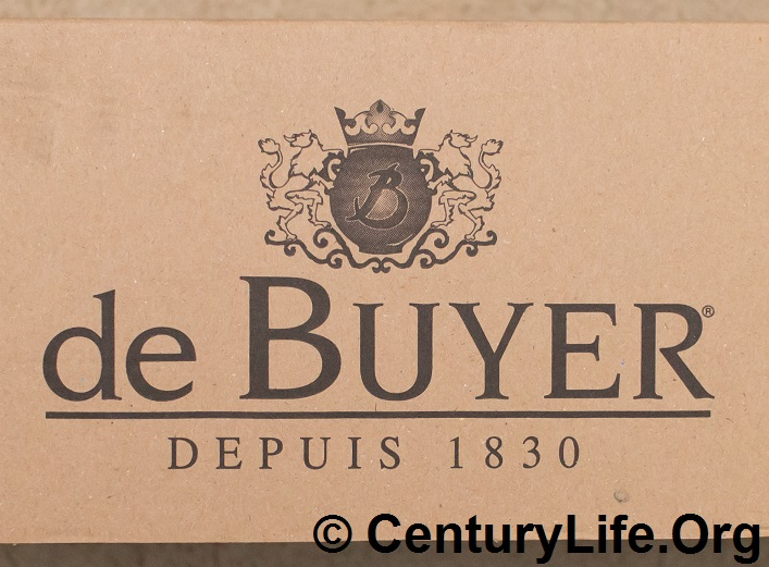 De Buyer Prima Matera. Depuis 1830 (Since 1830).