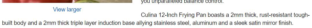 Culina March 2016 update