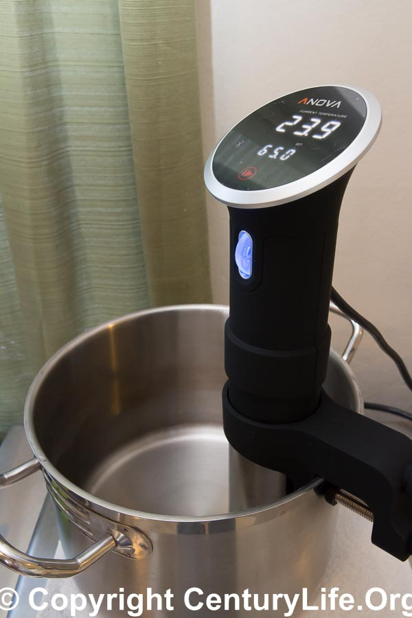 Anova Precision Cooker Thermal Immersion Circulator for Sous Vide