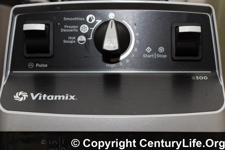 Vitamix 6300 Control Panel