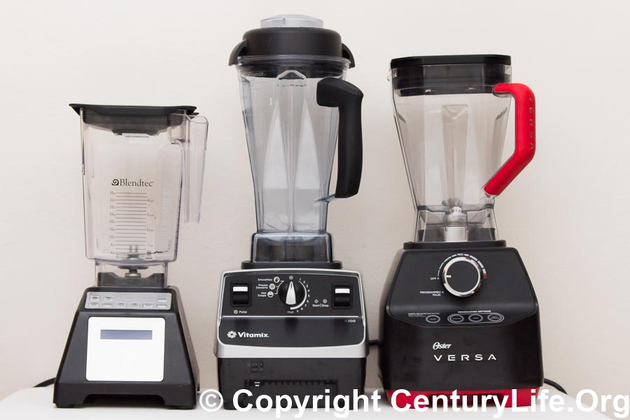 Blendtec Total Blender, Vitamix 6300, Oster Versa 1400 Blenders