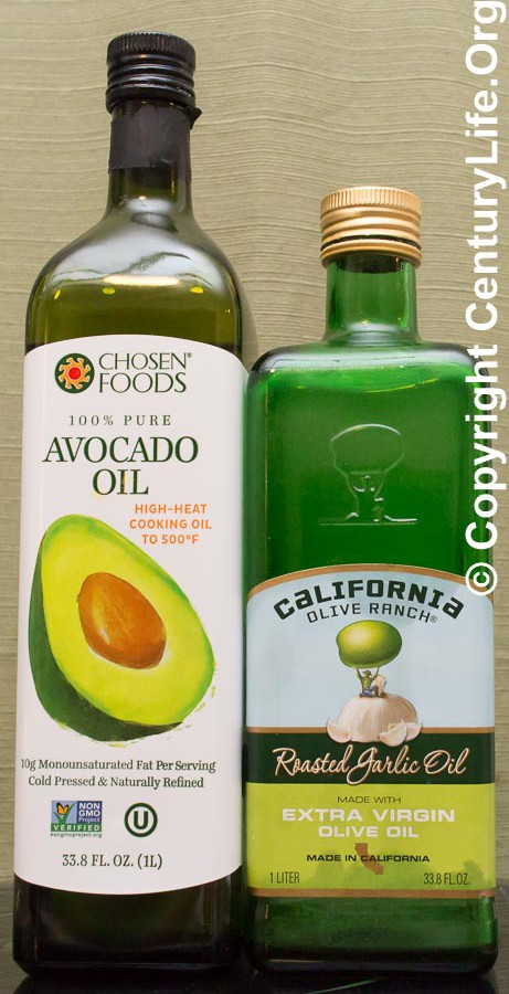 Chosen Foods Avocado Oil and California Olive Ranch Oil