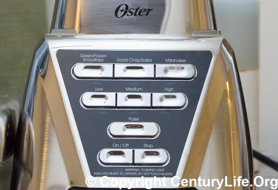 Oster Pro 1200 Plus Controls