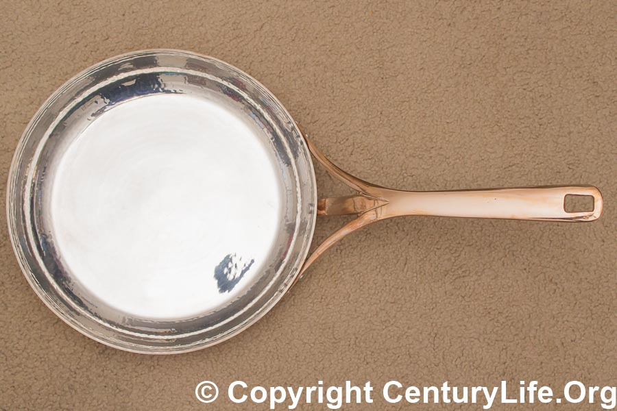 Soy Turkiye 30 cm (12 inch) Silver Copper (Ag-Cu) Frying Pan