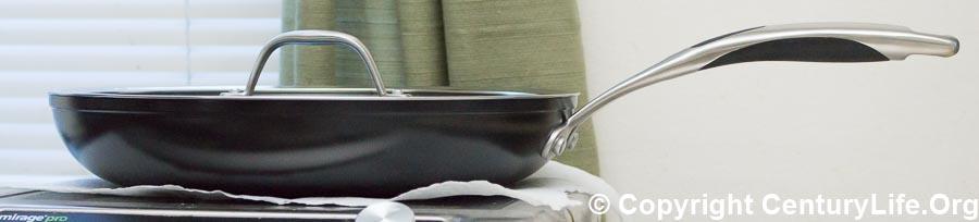 KitchenAid KCH112KLKD Hard Anodized Nonstick 12 Inch Skillet with Glass Lid