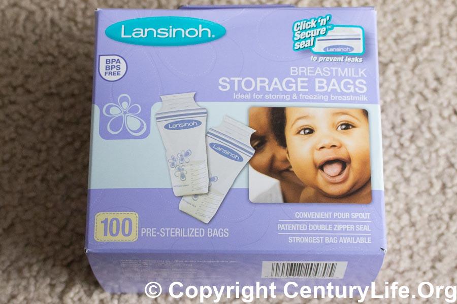 Lansinoh T Milk Storage Bags