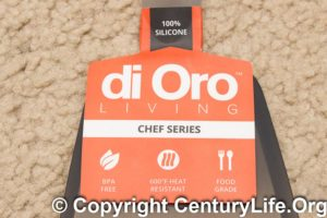 di Oro Living CHEF series silicone turners